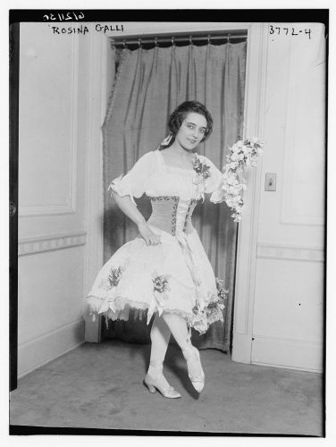 Rosina Galli   George Grantham Bain Collection (Library of Congress)