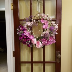 Creating my Summer Wreath