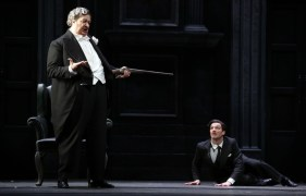 Don Pasquale with Maestri and Olivieri © Brescia e Armisano, Teatro alla Scala 2018