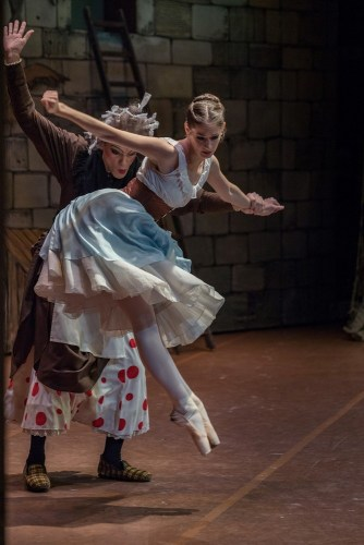 Lauretta Summerscales as Lise in La fille mal gardée with Bayerisches Staatsballett, photo by Sinead Bunn