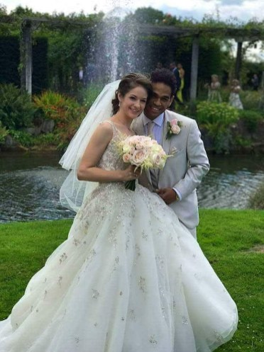Laurretta Summerscales and Yonah Acosta's wedding day, photo by Laurent Liotardo 01