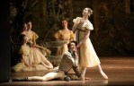 Laurretta Summerscales as Olga in Onegin with Jonah Cook at Bayerisches Staatsballett, photo by Wilfried Hösl
