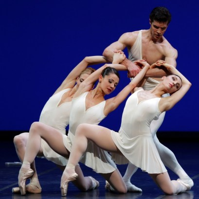 Apollo choreography by George Balanchine© The George Balanchine Trust Roberto Bolle, Virna Toppi, Nicoletta Manni, Martina Arduino, photo by Brescia e Amisano Teatro alla Scala (2)