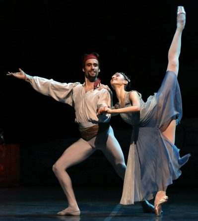 Le Corsaire with Marco Agostino and Martina Arduino, photo by Brescia & Amisano, Teatro alla Scala 2018