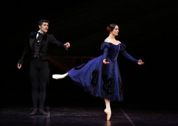 Onegin with Marianela Nunez and Roberto Bolle photo Brescia e Amisano Teatro alla Scala 01