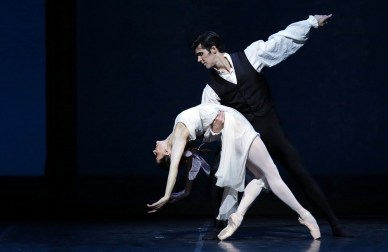 Onegin with Marianela Nunez and Roberto Bolle photo Brescia e Amisano Teatro alla Scala