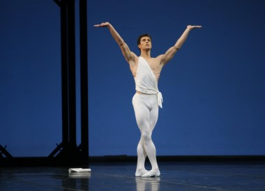 Roberto Bolle in Apollo by George Balanchine© The George Balanchine Trust photo by Marco Brescia, Teatro alla Scala