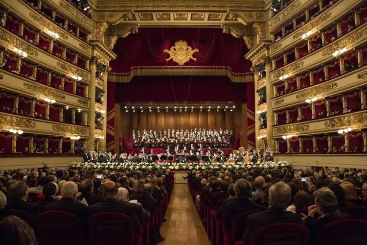 Teatro alla Scala, photo by Brescia e Amisano