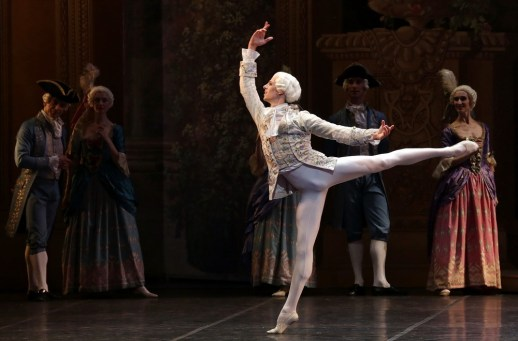 The Sleeping Beauty with Germain Louvet, photo by Brescia e Amisano, Teatro alla Scala