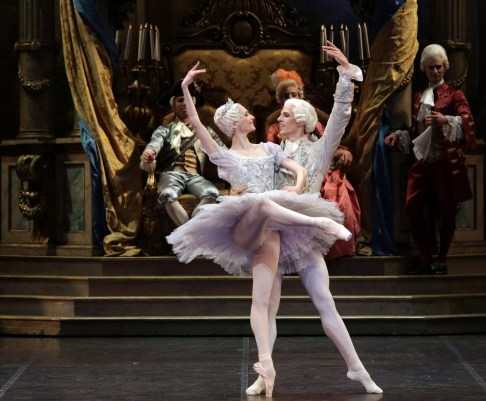 The Sleeping Beauty with Svetlana Zakharova and Germain Louvet, photo by Brescia e Amisano, Teatro alla Scala (6)