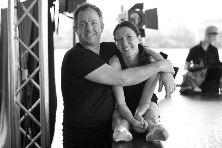 Director Matt Brady of the Covent Garden Dance Company with Mara Galeazzi, photo by Andrea Mascolo
