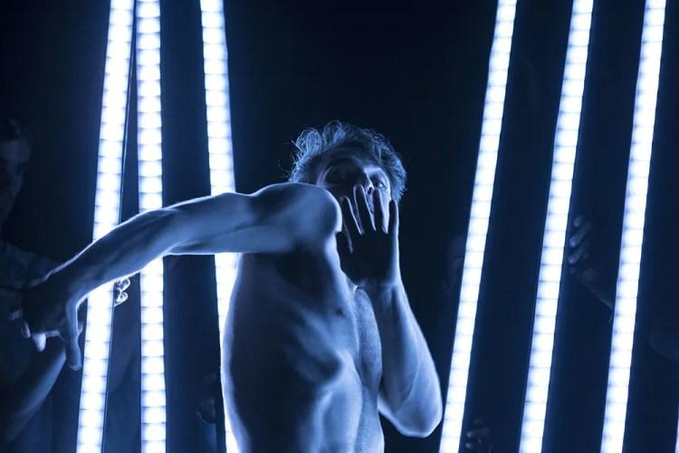 Dylan Tedaldi in a Frame by Frame workshop. Photo by Elias Djemil Matassov