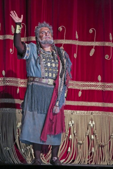George Gagnidze as Amonasro at La Scala 2018, photo Brescia e Amisano, Teatro alla Scala