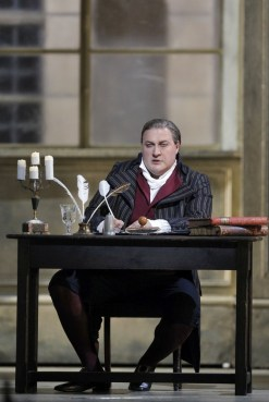 George Gagnidze as Gerard in Andrea Chénier at San Francisco Opera, 2016, photo by Cory Weaver