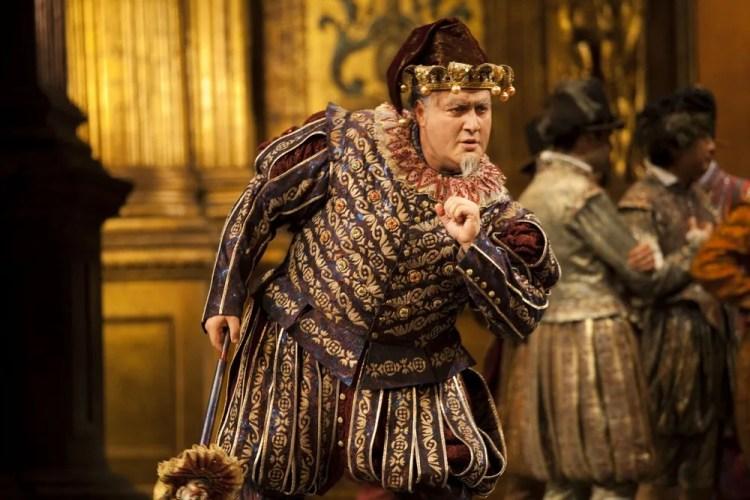 George Gagnidze as Rigoletto at La Scala 2013, photo Brescia e Amisano, Teatro alla Scala