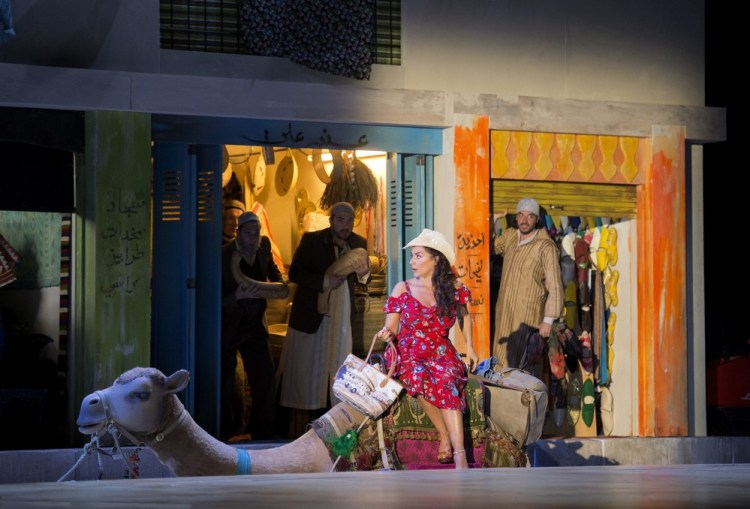 L'italiana in Algeri 2018, Cecilia Bartoli (Isabella) © Salzburger Festspiele, Monika Rittershaus 01