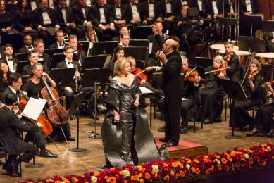 Richard Tucker Music Foundation 100th anniversary at Avery Fisher Hall with Renée Fleming