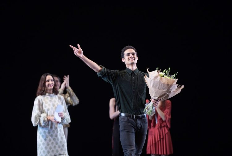 Winner of the 2018 Emerging Dancer Award, Daniel McCormick © Laurent Liotardo