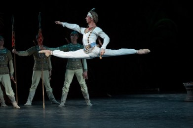 Semyon Chudin As Solor In La Bayadére, Photo By Mikhail Logvinov, 2012