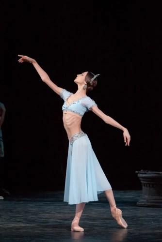 Svetlana Zakharova As Nikiya In La Bayadére, Photo By Mikhail Logvinov, 2012