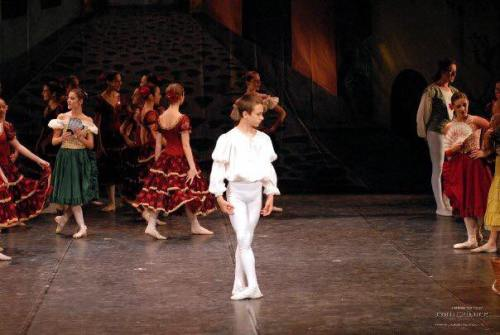 Francesco Gabriele Frola at 11 in Don Quixote, 2004