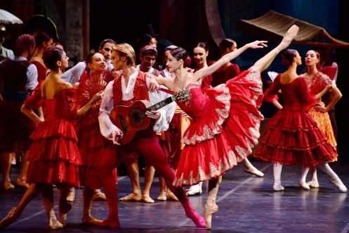 La Scala in Tianjin in Don Quixote with Nicoletta Manni and Timofej Andrijashenko