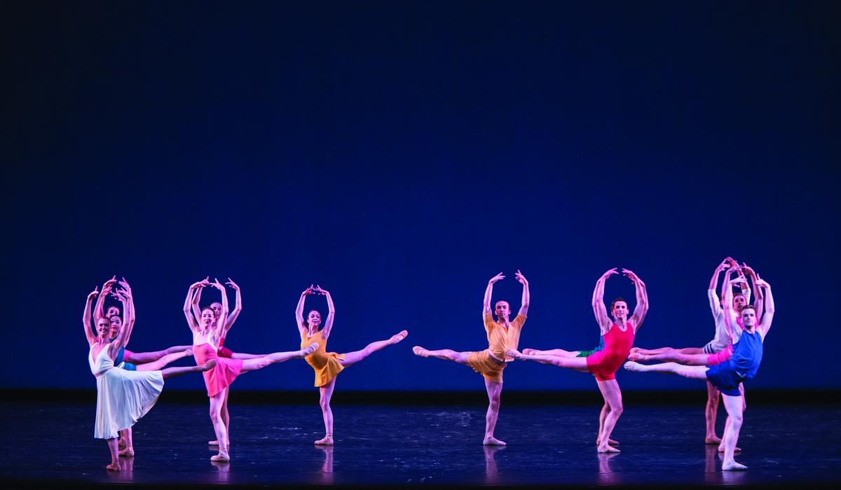 Artists of the Ballet in Paz de la Jolla. Photo by Aleksandar Antonijevic.