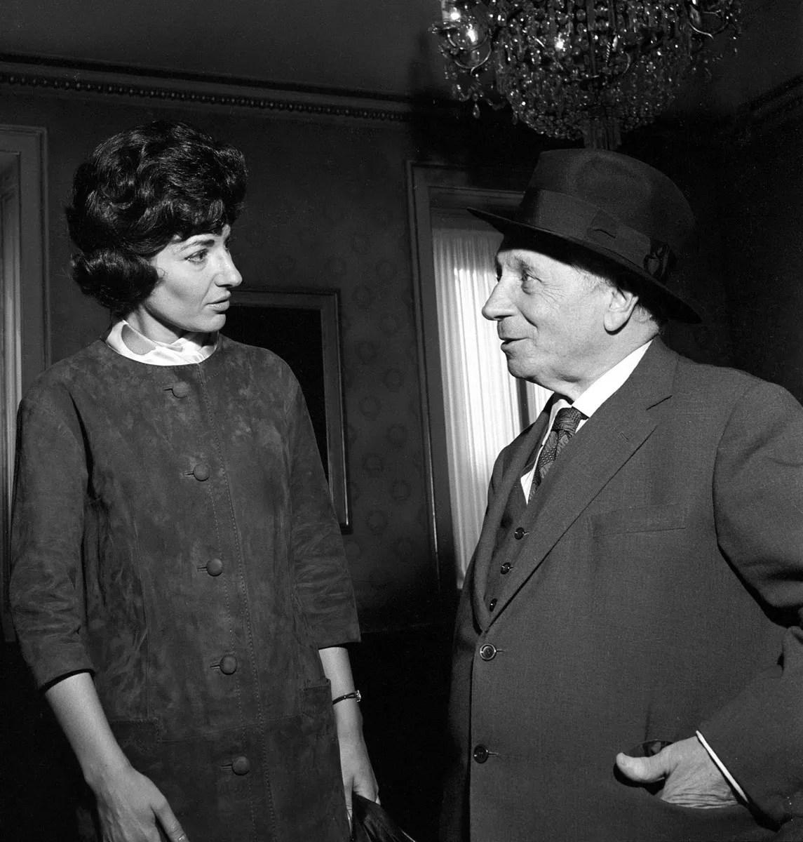Callas with Serafin in 1960