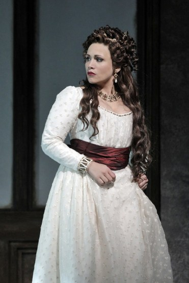Carmen Giannattasio As Tosca At San Francisco Opera, Photo By Cory Weaver