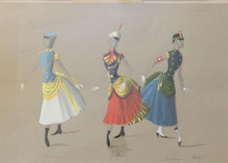 Excelsior, choreography Ugo Dell'Ara, 1967 Maggio Musicale Fiorentinoi