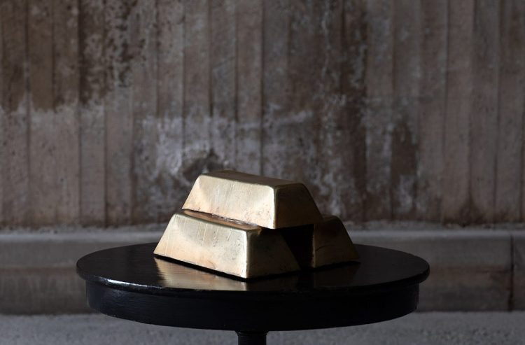 Gold Bars From Das Rheingold, Signed By Nina Stemme