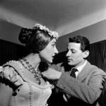La sonnambula, Tosi e Callas, 1957 Foto Piccagliani