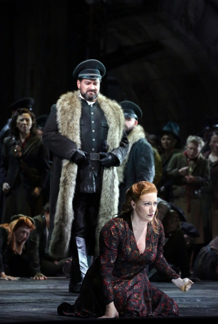 Attila, Teatro alla Scala with Ildar Abdrazakov and Saioa Hernandez photo Brescia e Amisano, Teatro alla Scala 2018 02