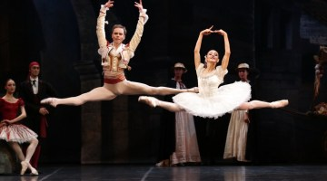 Illustrated look at La Scala's visit to Australia with Don Quixote and Giselle