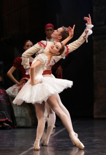 Don Quixote Nicoletta Manni and Leonid Sarafanov, photo by Brescia e Amisano, Teatro alla Scala