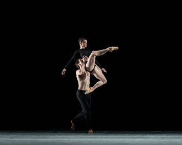 Infra. William Bracewell and Anna Rose O'Sullivan ©ROH, 2018. Photographed by Helen Maybanks
