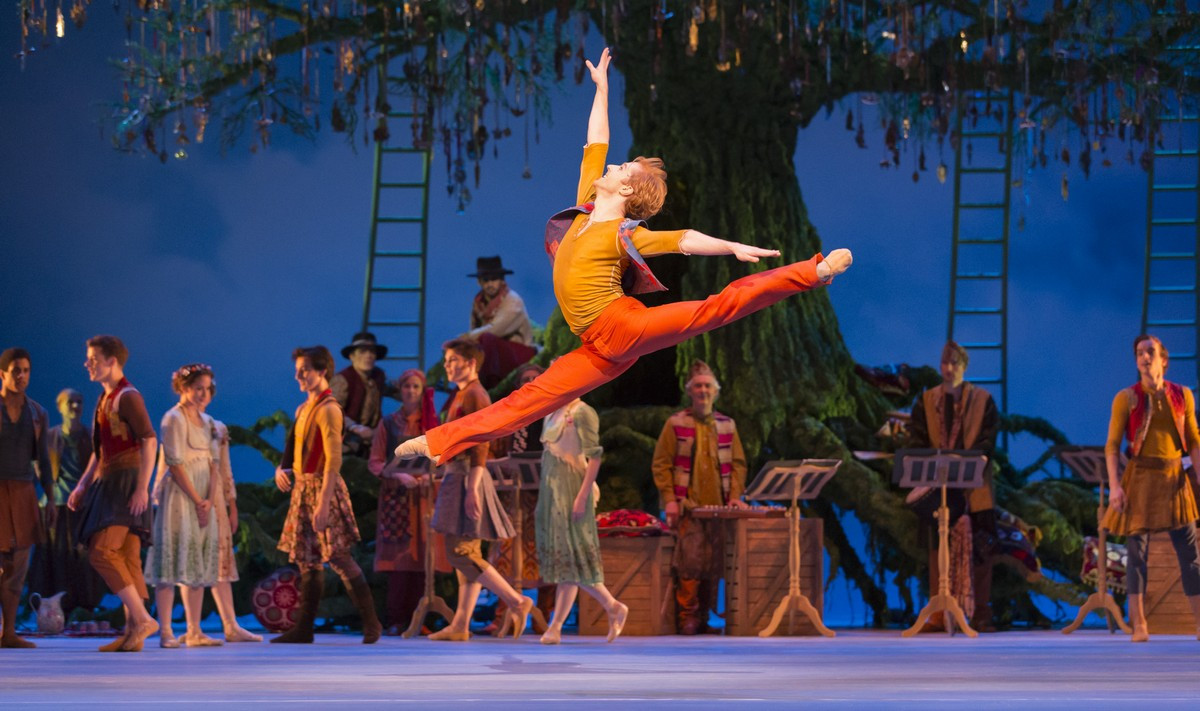 The Winter's Tale. Steven McRae as Florizel. ©ROH, Johan Persson 2014