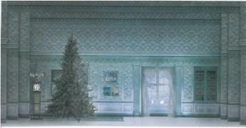 A design by Margherita Palli for Balanchine's Nutcracker