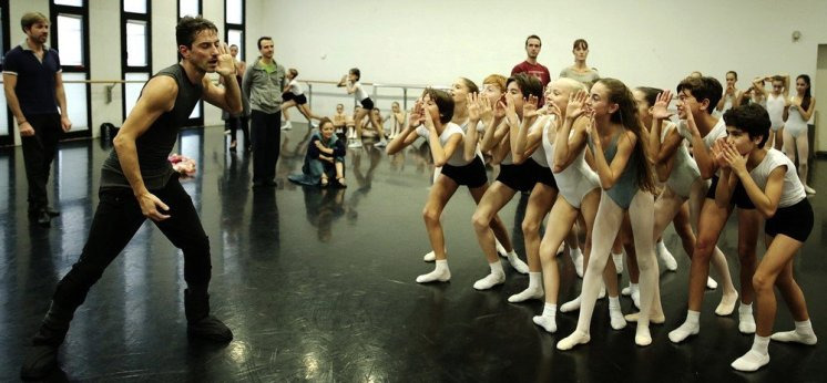 Balanchine's Nutcracker with Mick Zeni and students from La Scala's Ballet School