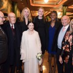 Centro Studi Grande Milano, Ambassadors 2018, behind Carla Fracci members of the Italy's Women's National Volleyball Team