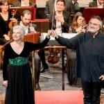 Mariella Devia e Sabbatini, photo by Gianfranco Rota, Donizetti Opera 2018