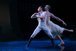 Matthew Ball in Matthew Bourne's Swan Lake, photo by Dasa Wharton, 2018 20
