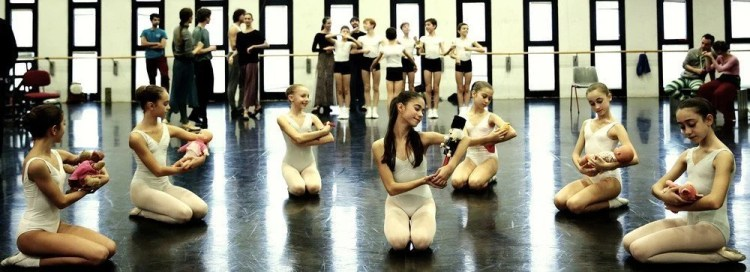 Rehearsals for Balanchine's The Nutcracker® at La Scala 02