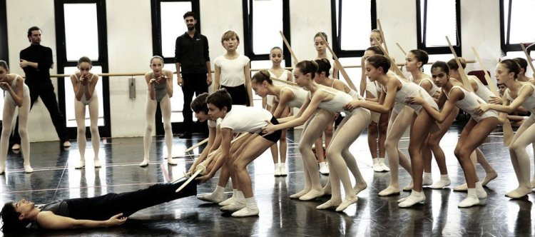 Rehearsals for Balanchine's The Nutcracker® at La Scala