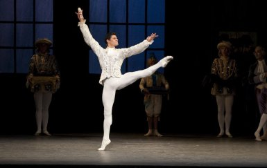 Cinderella. Thiago Soares as The Prince. ROH, 2010. Ph. Tristram Kenton.