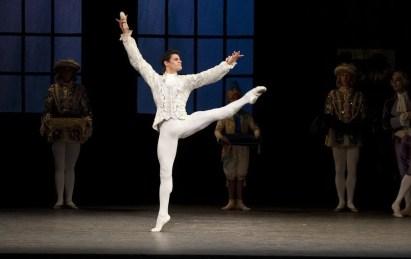 Cinderella. Thiago Soares as The Prince. ROH, 2010. Ph. Tristram Kenton.