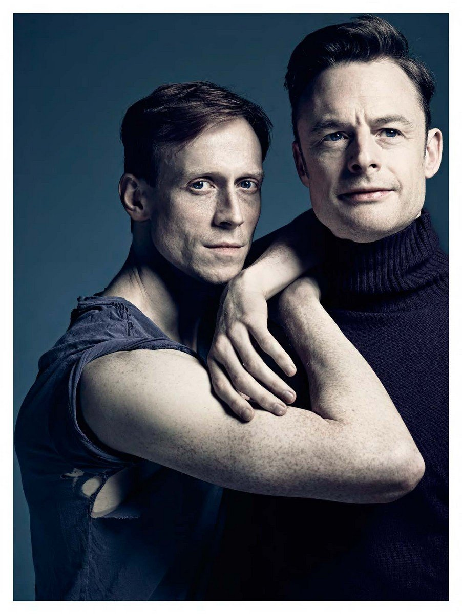 Edward and one of his closest collaborators, the incredible Christopher Wheeldon