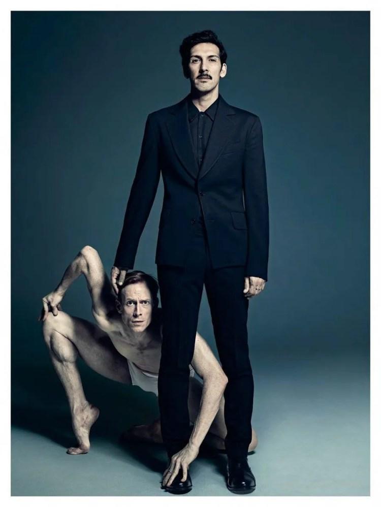 Edward with the astonishing choreographer Arthur Pita