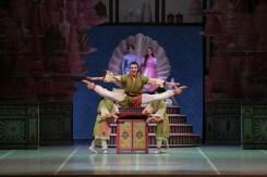 George Balanchine's The Nutcracker®, Andrea Crescenzi as Tea, photo by Brescia e Amisano, Teatro alla Scala 2018