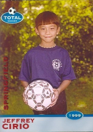 Jeffrey Cirio, footballer I loved playing football as a kid; when I discovered ballet, I eventually had to decide which one I wanted to do